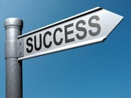 success_street_sign
