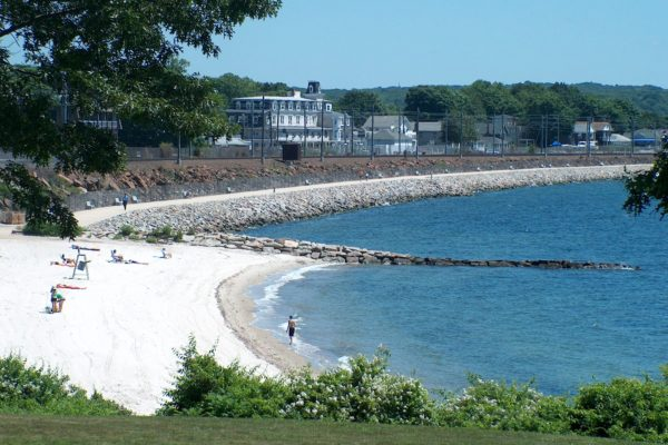 Hole-In-The-Wall Beach & Niantic Bay Boardwalk