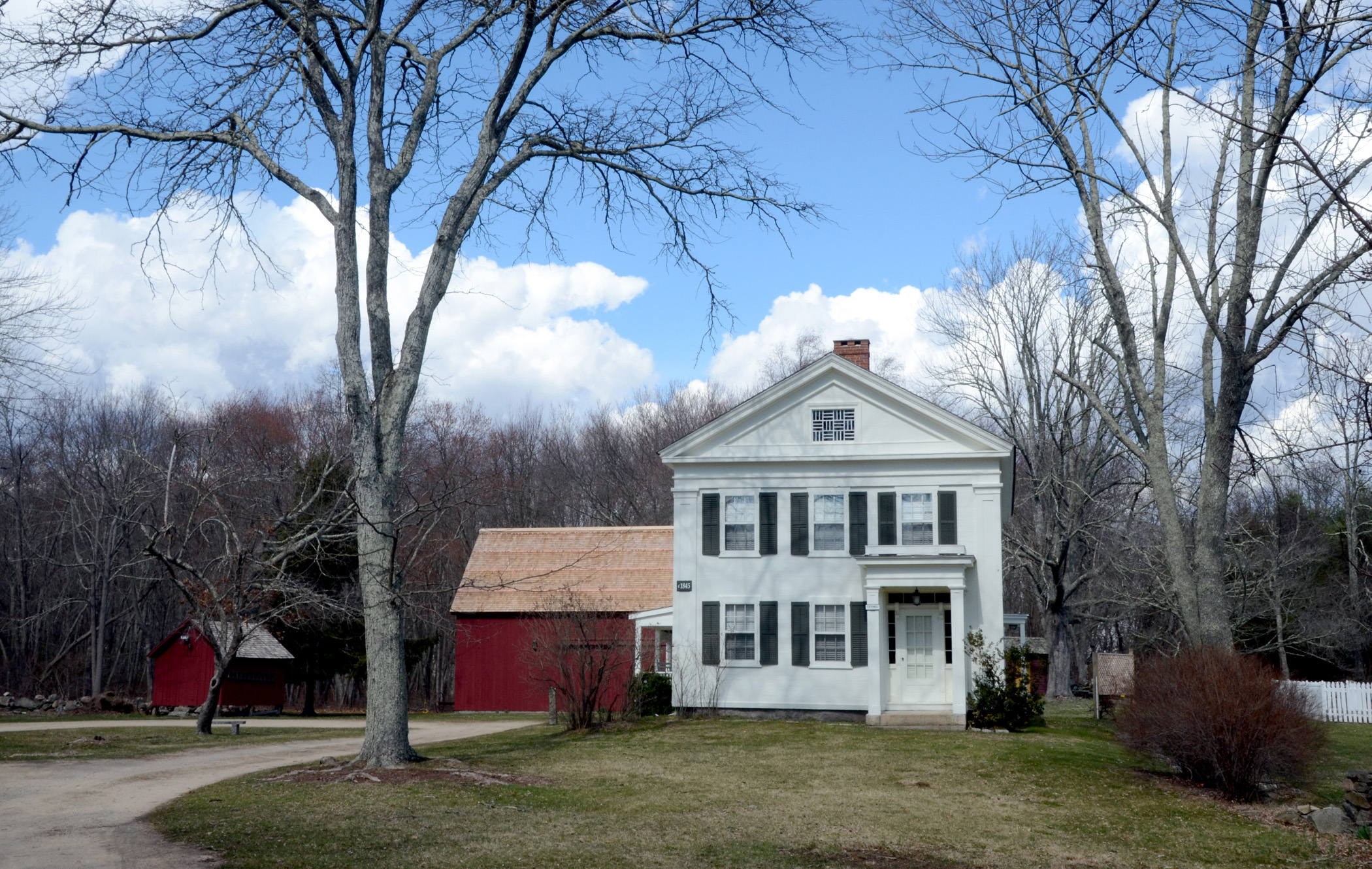Smith-Harris House at Brookside Farm Museum