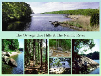 Oswegatchie Hills and Niantic River