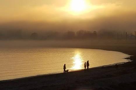 Niantic Bay Boardwalk - Sunset