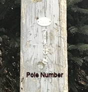 Pole Number