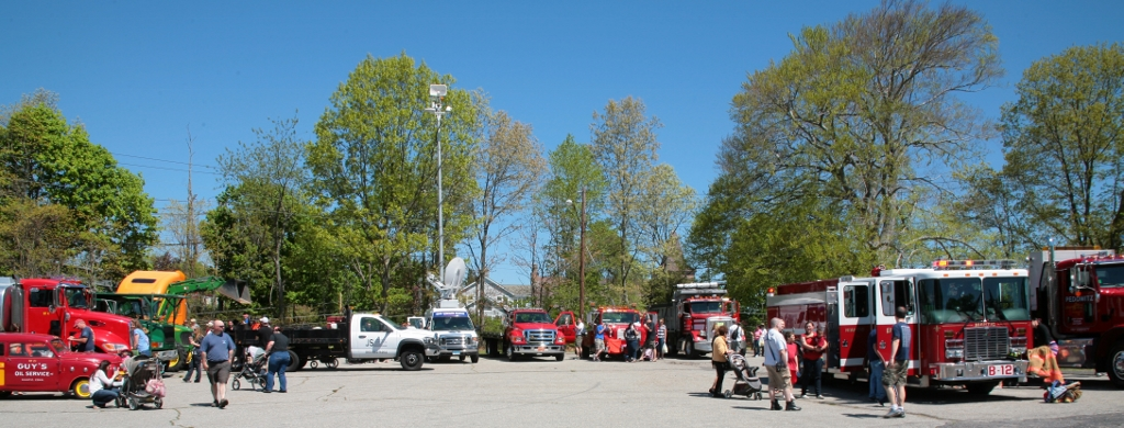 Touch A Truck Event - Wide Angle View