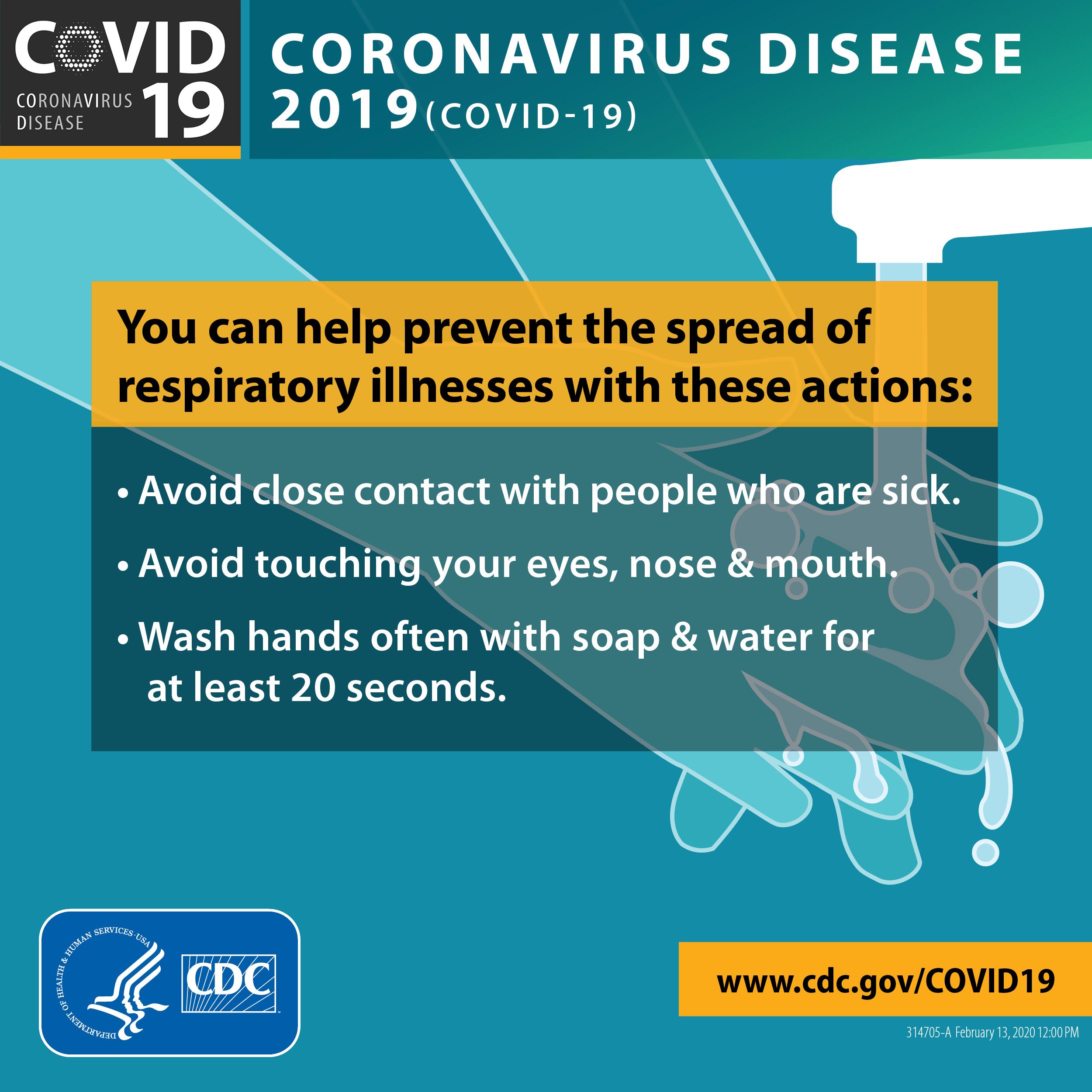 How to prevent the spread of Coronavirus 2019